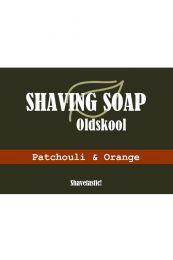 Biolijf scheerzeep Oldskool - Patchouli Orange 90gr
