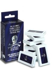 Bluebeards Revenge double edge scheermesjes 10 x 10 stuks