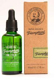 Captain Fawcett's baardolie Rufus Hound's Triumphant Beard Oil 50ml