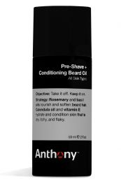 Anthony pre shave olie 60ml