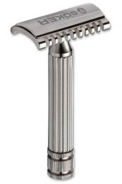 Boker double edge safety razor met tandkam