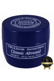 Cyril R Salter scheercrème Classic Almond 165gr