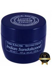 Cyril R Salter scheercrème Indian Sandalwood 165gr