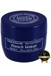 Cyril R Salter scheercrème French Vetiver 165gr