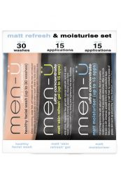 Men-Ü Matt Refresh/Moisturise set 3 x 15ml