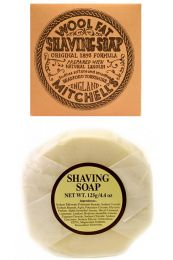 Mitchell's Wool Fat scheerzeep navulling 125gr