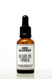 Ons Mannen baardolie Timber 10ml