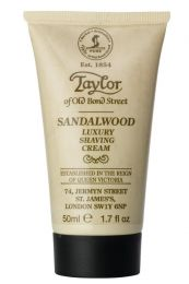 Taylor of Old Bond Str. scheercrème Sandelhout 50ml