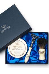 Taylor of Old Bond Str. luxe cadeau scheerset Sandelhout