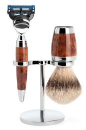 Muhle scheerset Stylo S091H71F - Dashaar - Fusion - Thujahout