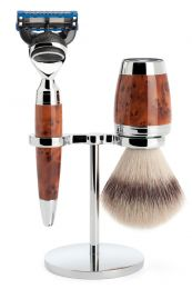 Muhle scheerset Stylo S31H71F - Synthetisch - Fusion - Thujahout