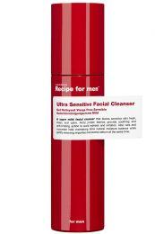 Recipe for Men reinigingsgel voor gevoelige huid 100ml