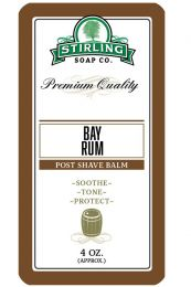 Stirling Soap Co. after shave balm Bay Rum 118ml