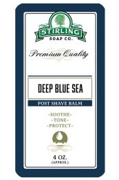 Stirling Soap Co. after shave balm Deep Blue Sea 118ml