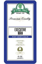 Stirling Soap Co. after shave balm Executive Man 118ml