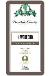 Stirling Soap Co. after shave balm Haverford 118ml