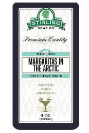 Stirling Soap Co. after shave balm Margaritas in the Artic 118ml