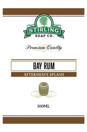 Stirling Soap Co. after shave Bay Rum 100ml