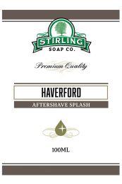 Stirling Soap Co. after shave Haverford 100ml