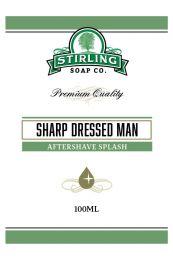 Stirling Soap Co. after shave Sharp Dressed Man 100ml