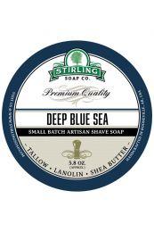 Stirling Soap Co. scheercrème Deep Blue Sea 165ml