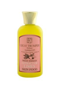Geo F Trumper pre en after shave balm Skin Food Limes 100ml