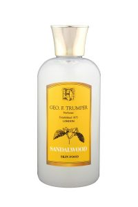 Geo F Trumper pre en after shave balm Skin Food Sandelhout 100ml