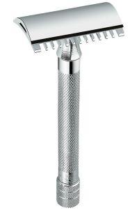 Merkur 25C double edge safety razor met tandkam