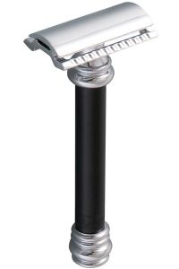 Merkur 38C double edge safety razor zwart aluminium