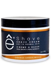 eShave scheercrème Orange Sandalwood 120gr