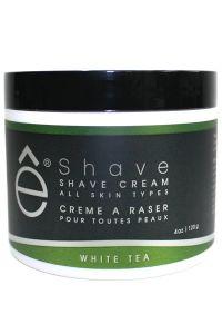 eShave scheercrème White Tea 120gr