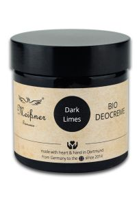 Meissner Tremonia organic deodorantcrème Dark Limes 75gr