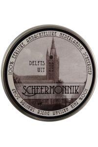Scheermonnik scheercrème Delfts Wit 75gr