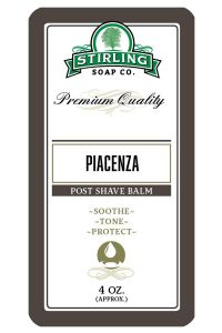 Stirling Soap Co. after shave balm Piacenza 118ml