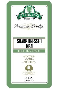 Stirling Soap Co. after shave balm Sharp Dressed Man 118ml