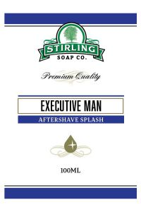 Stirling Soap Co. after shave Executive Man 100ml