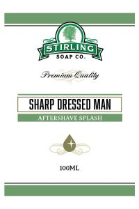 Stirling Soap Co. after shave Sharp Dressed Man 100ml