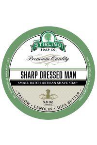 Stirling Soap Co. scheercrème Sharp Dressed Man 165ml