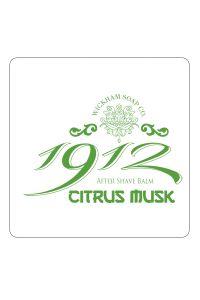 Wickham Soap Co. 1912 after shave balm Citrus Musk 50gr