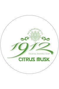 Wickham Soap Co. 1912 scheercrème Citrus Musk 140gr