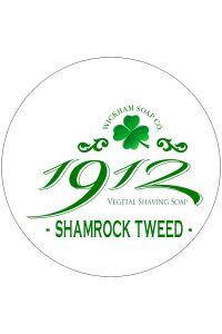 Wickham Soap Co. 1912 scheercrème Shamrock Tweed 140gr