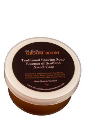Essence of Scotland scheerzeep Sweet Gale 120gr