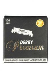 Derby Premium halve DE-scheermesjes voor Shavette scheermes 100 stuks