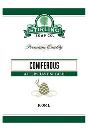 Stirling Soap Co. after shave Coniferous 100ml