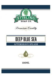 Stirling Soap Co. after shave Deep Blue Sea 100ml