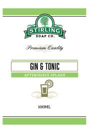 Stirling Soap Co. after shave Gin & Tonic on the rocks 100ml