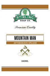 Stirling Soap Co. after shave Mountain Man 100ml