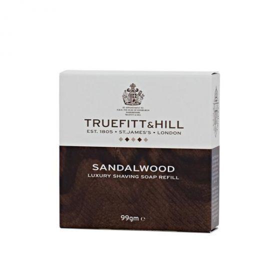 Truefitt & Hill sandalwood scheerzeep navulling 100gr