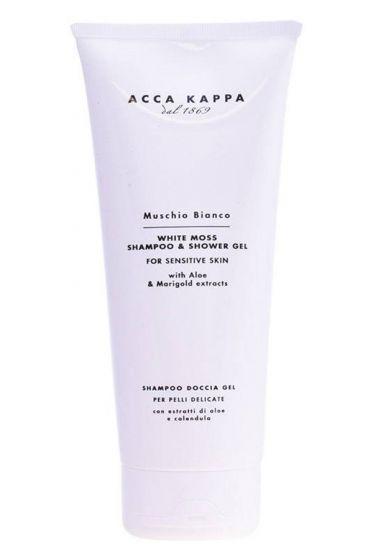 Acca Kappa shampoo + douchegel White Moss 200ml