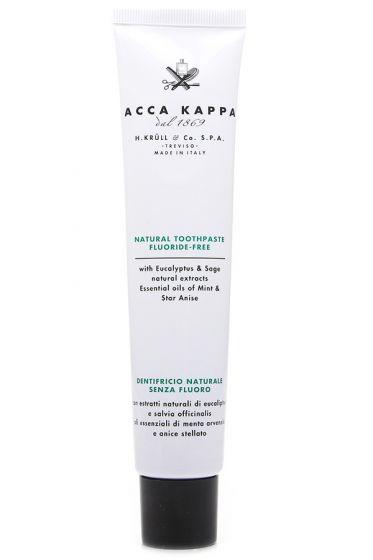 Acca Kappa tandpasta fluoride vrij Natural Care 100ml
